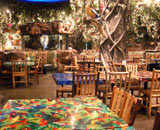 Family Dining at the Rainforest Cafe Niagara Falls Restaurant