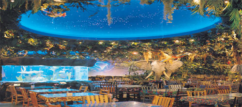 Rainforest Cafe Niagara Falls Restaurant