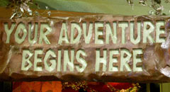 Your Adventure Begins Here at the Rainforest Cafe Niagara Falls